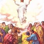 Yesus Kristus bangkit dari kematian dan naik ke surga