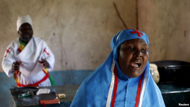 Umat Kristen Cemas dalam Ibadah Paskah di Garissa, Kenya